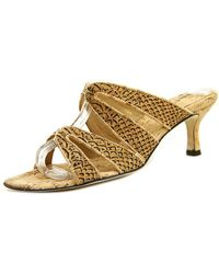 Vaneli - Matilda Women N/s Open Toe Leather Sandals - Lyst