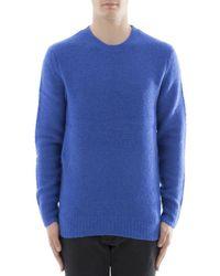 Rag & Bone - Men's Blue Wool Sweater - Lyst