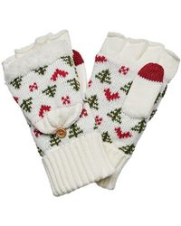 San Diego Hat Company - Women's Trees & Hearts Pop Over Glove Kng3475 - Lyst