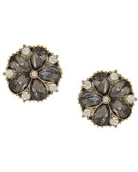 Sparkling Sage - 14k Plated Resin Studs - Lyst