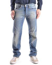Evisu - Men's Mcbi338005o Blue Cotton Jeans - Lyst
