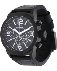 TW Steel - Watch Marc Coblen Edition Chronograph Black Twmc19 - Lyst