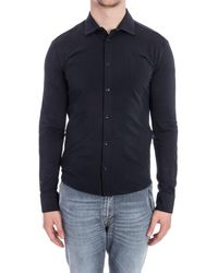 Rrd | Men's Blue Cotton Shirt | Lyst