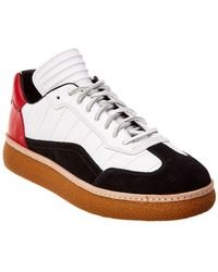 Alexander Wang - Eden Low-top Leather & Suede Sneaker - Lyst