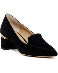Enzo Angiolini - Womens Denna Leather Pointed Toe Classic Court Shoes - Lyst