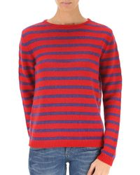 Stella Jean - Women's Red Wool Jumper - Lyst