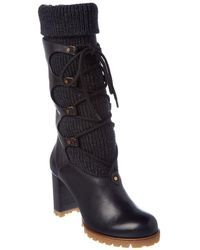 Chloé - Foster Leather Boot - Lyst