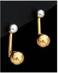 Argento Vivo - 18k Plated Ball Drop Earrings - Lyst