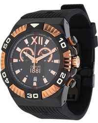 Cerruti 1881 - Watch Chronograph Black Cra038d224q - Lyst