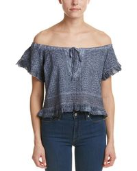 Surf Gypsy | Off-the-shoulder Blouse | Lyst