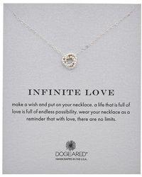 Dogeared - Seasonal Inifinte Love Necklace - Lyst