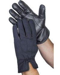 Gloves International - Canvas Leather Touchscreen Gloves - Lyst