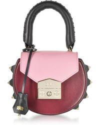 Salar - Women's Burgundy Leather Shoulder Bag - Lyst