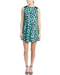 French Connection - Printed Shift Dress - Lyst