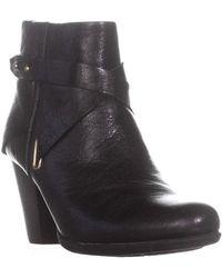 Born - B.o.c. Richardson Double Zip Ankle Boots, Black - Lyst