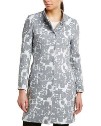 Cinzia Rocca - Icons Floral Trench Coat - Lyst