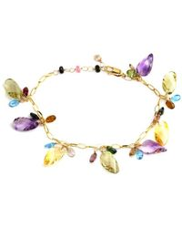 Effy - 14k 33.25 Ct. Tw. Gemstone Tennis Bracelet - Lyst