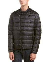Moncler - Crio Quilted Down Biker Jacket - Lyst