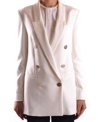 Pinko - Women's Kabiraz12 White Polyester Blazer - Lyst
