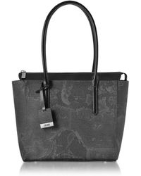 Alviero Martini 1A Classe - Medium Geo Black Tote - Lyst
