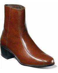 Florsheim - Shoes, Duke Bike Toe Ankle Boots - Lyst