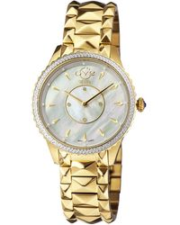 Gv2 - Siena Women's Swiss Quartz Gold Stainless Steel Bracelet Watch - Lyst