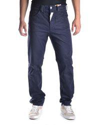 John Galliano | Men's Mcbi130087o Blue Cotton Pants | Lyst