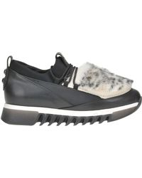 Alexander Smith - Eco-fur Insert Sneakers - Lyst