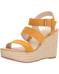 BC Footwear - Women's Snack Bar Wedge Sandal, - Lyst