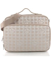 Chanel - Pre Owned Travel Line Briefcase Nylon - Lyst