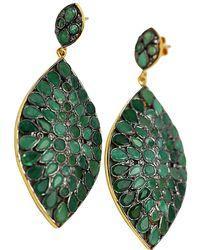 Blue Candy Jewelry - Mosaic Gemstone Drop Earring - Lyst