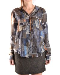 Jacob Cohen - Women's Multicolor Silk Jumper - Lyst