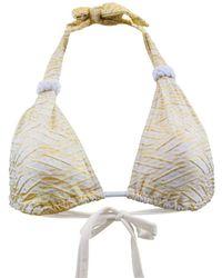 ae6ff6ab9aee Marc by marc jacobs Finch Charm Euro String Bikini Bottoms | Lyst