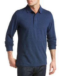 Brooks Brothers - Gentleman Oxford Wool-blend Polo Shirt - Lyst