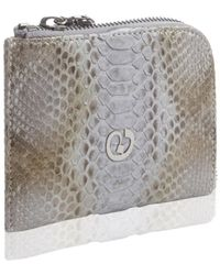 Nada Sawaya - Medium Zip Around Python Wallet - Lyst