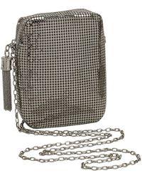 Whiting & Davis - Chain Tassel Mini Crossbody - Lyst