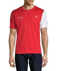 Ermenegildo Zegna - Maserati Logo T-shirt - Lyst