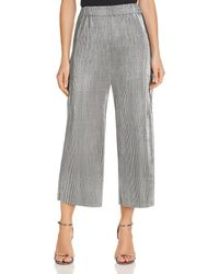Likely - Womens Olivia Crinkled Cropped Culottes - Lyst