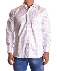 Z Zegna - Men's Mcbi319019o Multicolor Cotton Shirt - Lyst