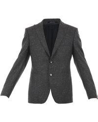 Tagliatore - Men's Grey Wool Blazer - Lyst