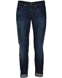 Dondup - Men's Up232ds0050s96t800 Blue Cotton Jeans - Lyst