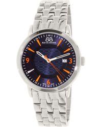 88 Rue Du Rhone - Men's 87wa144212 Silver Stainless-steel Swiss Quartz Dress Watch - Lyst