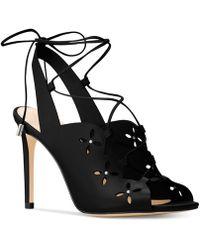 Michael Kors - Thalia Lace-up Heeled Dress Sandals - Lyst