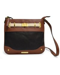 Adrienne Vittadini - The Grace Collection Belted Turnlock Crossbody - Lyst