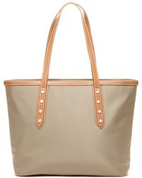 Susu - Hampshire Howe Nylon Women's Shoulder Bag Work Tote With Leather Handle - Lyst