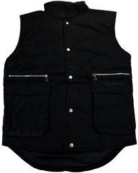 Gianfranco Ferré - Gff 014 Nero Black Sleeveless Jacket - Lyst