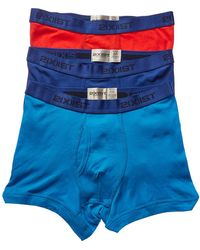 2xist - 2(x)ist Set Of 3 No-show Boxer Brief - Lyst
