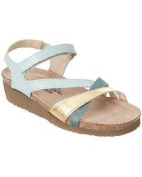 Naot - Sophia Leather Sandal - Lyst