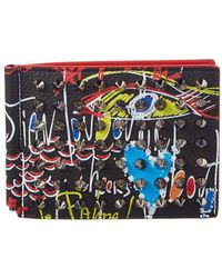 Christian Louboutin | Clispos Leather Bifold Wallet | Lyst