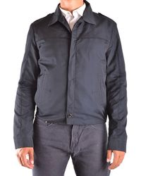 CoSTUME NATIONAL - Men's Blue Polyester Outerwear Jacket - Lyst